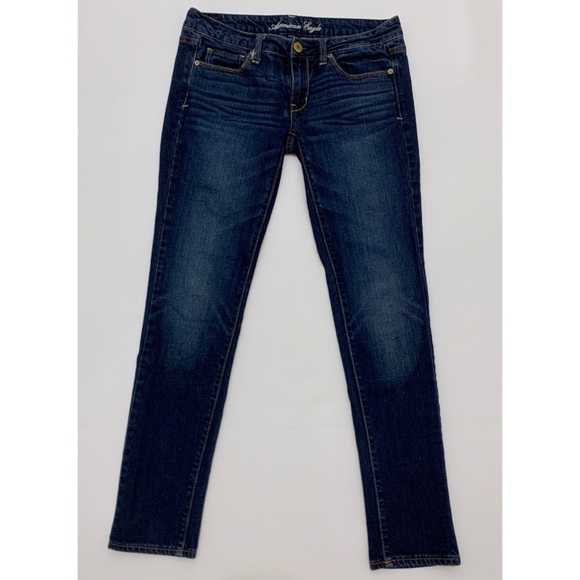 American Eagle Outfitters Denim - AEO Stretch Skinny Jeans 6 Blue
